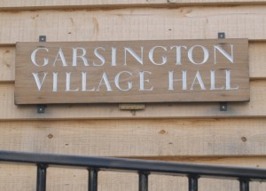 Garsington Village Hall Sign